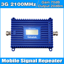 3g Mobile Signal Repeater 3G HSPA Signal Amplifier  UMTS WCDMA  3G Signal Booster repetidor 3g 2100mhz mobile signal booster