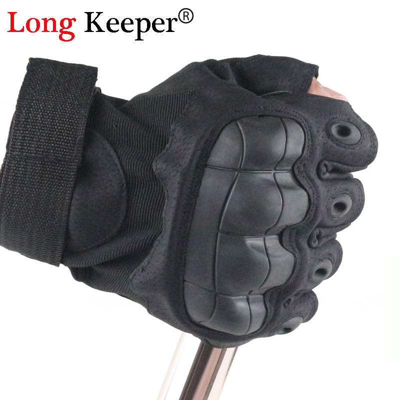 Long Keeper Men Army Tactical Gloves Half Finger Combat Military Adjust Gloves Anti-skid Gloves Outdoor Riding Mens Gloves G251