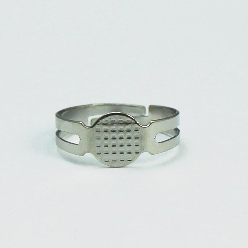 Beadsnice оптовая кольцо База Никель свинца безопасным DIY моды кольцо пробелы настройки для DIY ювелирное id4831