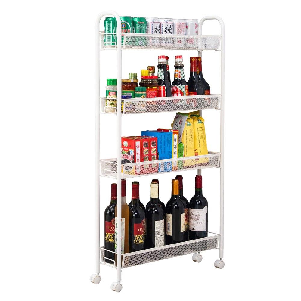 Organisateur de cuisine multifonctionnel étagère chariot roulant étagère de cuisine SKU73907530