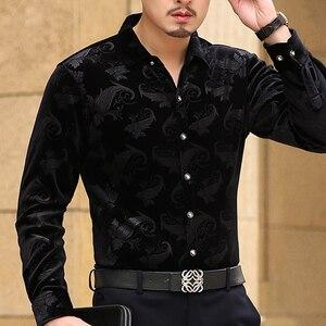 Image 5 - Mu יואן יאנג ארוך שרוול חולצה גברים אופנה חדש מעצב באיכות גבוהה פלנל mens חולצות harujuku camisa masculina גברים בגדים
