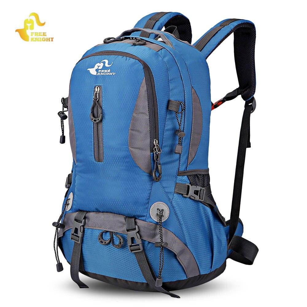 FreeKnight 2018 Fashion Waterproof Trekkers Backpack Rain Bags Mountaineering Backpacks Bicycle Bags Travel Bags