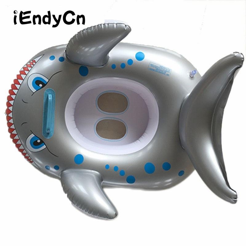 Crianças de Corrida De Natação Assento Do Bebê Barco inflável PVC Animais Espessamento das Crianças Colo LMY903YDR