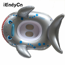 Inflatable children swimming race The baby seat boat PVC inflatable animals thickening childrens lap LMY903