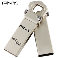 PNY USB Flash Drive 32gb usb 3.0 Metal pendrive HOOK Attache3.0 cle usb flash memory stick business gift with logo usb pendrive