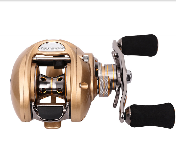 Japan NMB Bearings 7.0:1 Fishing Reel All-metal Baitcasting Reels Water Drop Distant Wheel Ceramic Line Guide Nylon Frame 056# our distant cousins