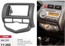 Frame + android 6.0 coches reproductor de dvd para honda fit jazz auto AC rueda izquierda estéreo autoradio de navegación grabadora unidades de la cabeza