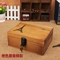 No. Fabricantes de venda zakka fazer o velho de madeira caixa de armazenamento de mesa de madeira