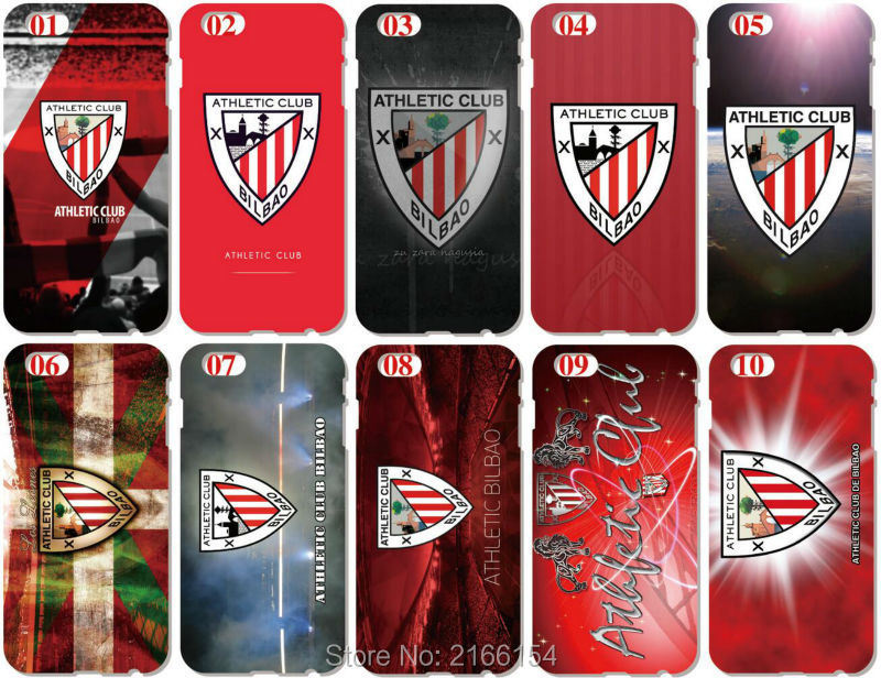 Athletic Bilbao Skin Cover For iphone X 4 4S 5 5S SE 5C 6 6S 7 8 Plus For iPod Touch 5 6 Hard Phone Case Capa Coque Shell Fundas