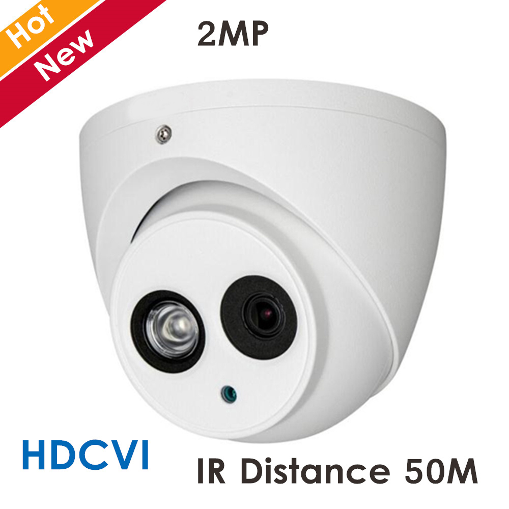 HD1080P DH HDCVI Camera 2MP DH-HAC-HDW1200E-A Network IR Dome Security Camera CCTV IR distance 50m HAC-HDW1200E-A dahua hdcvi hac hdw1200em a 2mp dome camera built in mic cmos 1080p ir 50m ip66 dh hac hdw1200emp a security camera