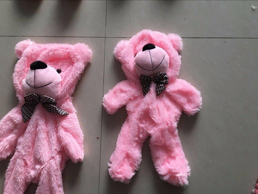 180 Cm Pink Coklat Warna Putih Besar Teddy Bear Kulit Boneka Mantel 5917a26a1e