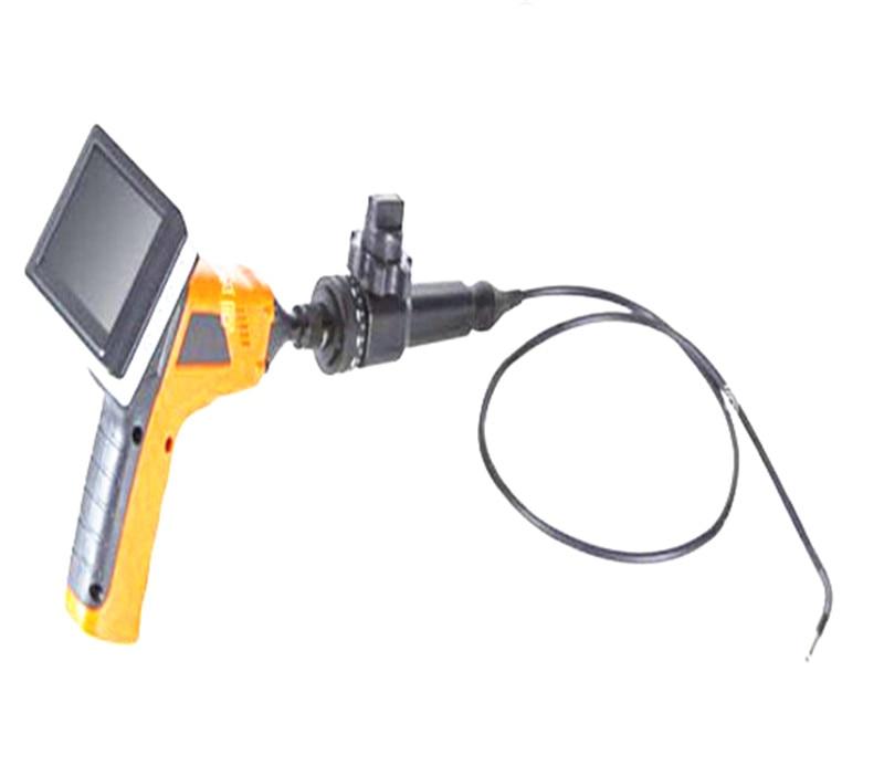 3.5 Inch 5.5mm Articulating Rotating camera head adjusts up to 270 degree AV Handheld Endoscope