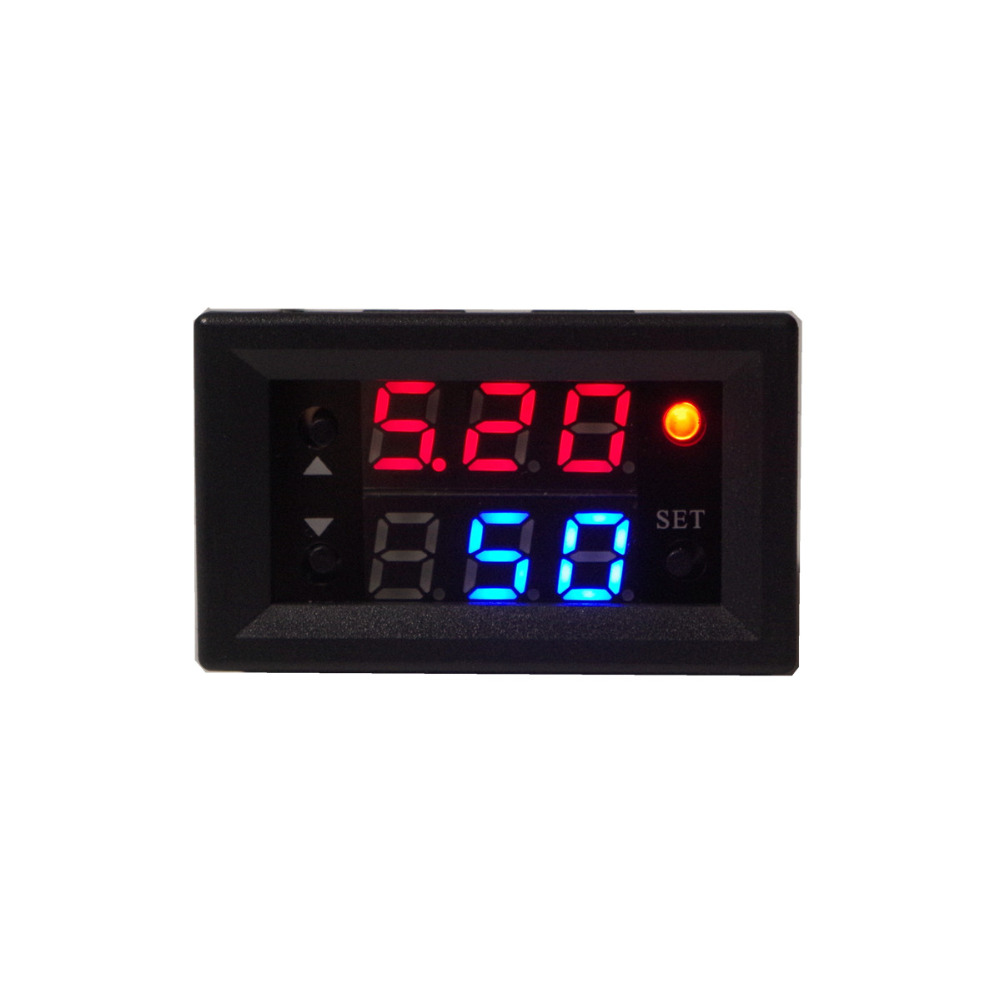 Digital display 10A PWM High Power regulation switch Frequency duty cycle adjustable electronic LED Dimming Motor solenoid valveDigital display 10A PWM High Power regulation switch Frequency duty cycle adjustable electronic LED Dimming Motor solenoid valve