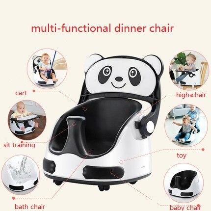 Bébé salle à manger chaise enfants manger siège maison portable chaise multi-fonctionnelle apprentissage bébé table à manger et chaises