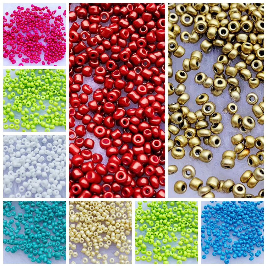 20pcs Half-drilled 6mm Round Beads for making jewelry hair ties accessories