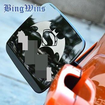 Gaz Du Réservoir de Carburant Bouchon De Remplissage Porte Garnitures Extérieures Couvre ABS en aluminium Inoxydable Métal Pour Jeep Renegade 2014 2015 2016 de voiture style