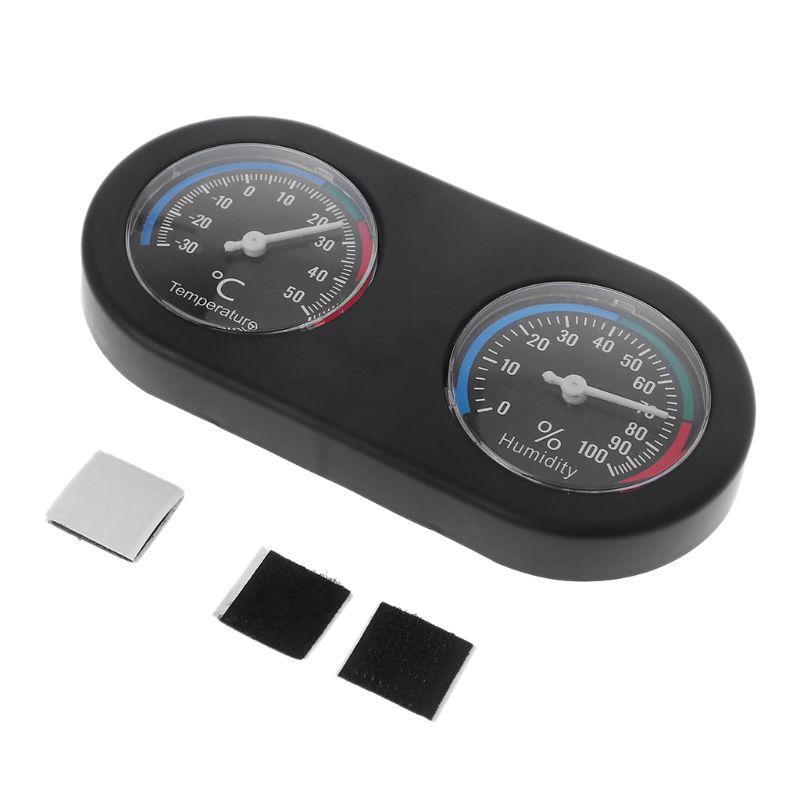 Reptile Tank Thermometer Hygrometer Monitor Temperature And Humidity In Vivarium Terrarium--S004