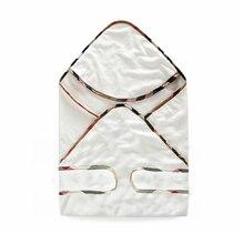 Новое поступление 73*73 см ребенка с капюшоном решетки хлопковое банное полотенце для маленьких мальчиков халат для девочки для младенцев Детские хлопчатобумажное одеяльце одежда