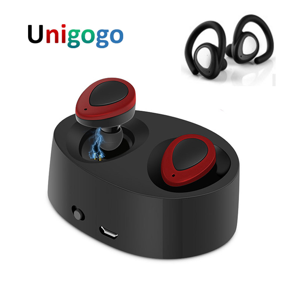 K2 TWS Mini Ture Wireless Earbuds Bluetooth Earphone In-Ear Blutooth Headphones With Mic Charger Box for Phone Xiaomi iPhone