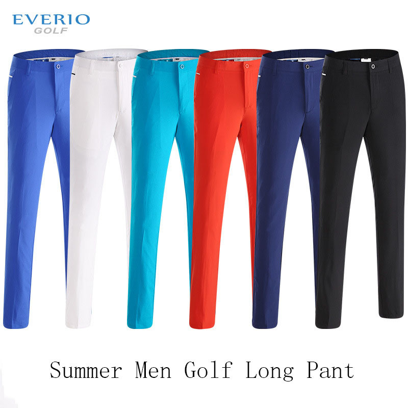 Brand Golf long pants men summer quick dry elastic golf clothes male slim golf trouser цена
