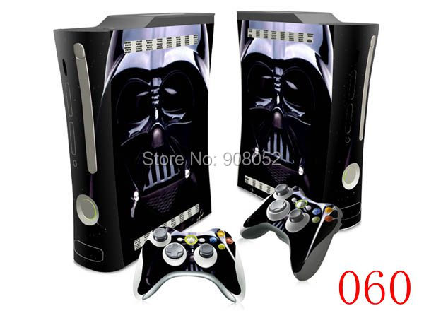 Vinyl Skins Sticker Decal Skins for Microsoft Xbox 360 fat Console and Controllers