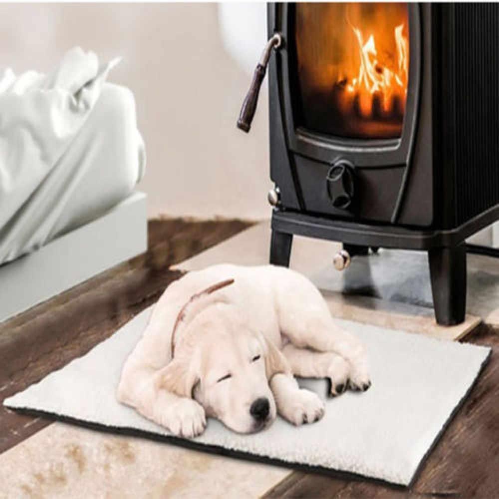 Tapis Transer Pet auto chauffant chien chat Pet lit thermique lavable aucune couverture électrique requise 90 cm x 64 cm confort Oct31