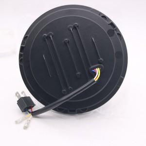 Image 4 - 2pcs 7 אינץ עגול LED פנס עבור ג יפ רנגלר JK TJ עבור האמר H1 H2 12V 24V לסוזוקי סמוראי לאדה 4x4 עירוני ניבה