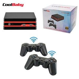 Image 2 - Coolbaby 2019 החדש HDMI/AV וידאו קונסולת משחקי 64 קצת תמיכת 4K פלט רטרו 600 קלאסי משפחת וידאו משחקי רטרו משחק קונסולה