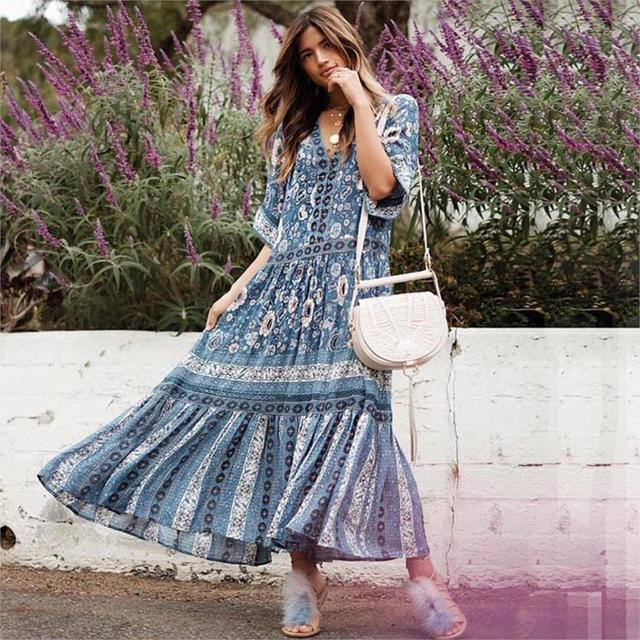 Flowing Summer Dresses with Sleeves