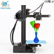 Дешевые 3D принтеры Ender-2 алюминия Структура creality 3D DIY принтер Prusa i3 3D комплект принтера с подогревом нить SD Card
