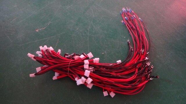 10 teile/los Innen 20 50 cm Lange Stromversorgung Kabel/Stromkabel ...