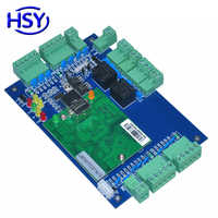 HSY TCP/IP Network Two Door Two Way Access Control Board Wiegand26~40 RFID Card Reader Control Panel with Free Software and SDK