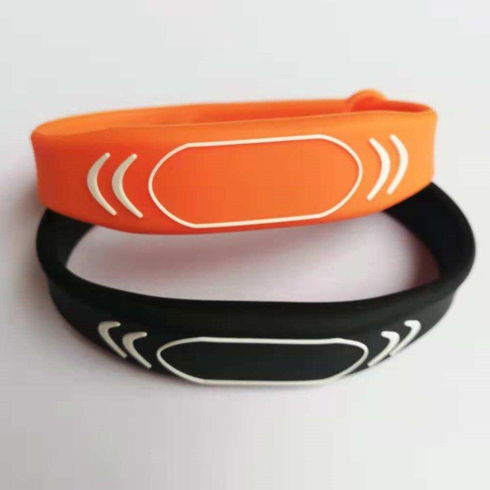 UID Changeable Wristband Block 0 Writable 13.56mhz Mf1 S50 1K Bracelet - 2pcs