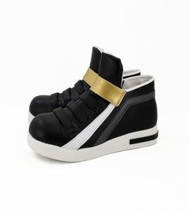 Image 3 - Обувь для косплея игры LOL KDA Akali, сапоги для косплея Akali для взрослых, женская черная обувь