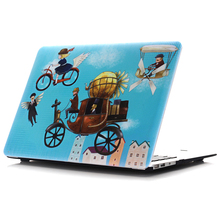 Luxury Colorful Airbrushed Painting Matte Hard Laptop Protective Case Cover for Apple Macbook Air Pro Retina 11 12 13 15 Inch(China)