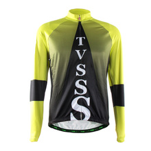 TVSSS Cycling Jersey Long Sleeve Sports Clothing Men Full Voyage Mondiale Cycle Bicycle Clothes Rear Pockets Zippered Shirt