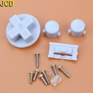 Image 4 - JCD 1 pcs ฝาครอบพลาสติกสำหรับคอนโซล GBA Shell Case + เลนส์หน้าจอ Protector + Stick ป้าย gameboy Advance