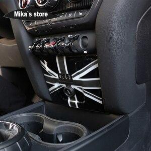 Image 3 - PC flaga union jack AUX zapalniczki pokrywa osłonowa Case naklejka dla mini cooper F60 Countryman stylizacja wnętrza samochodu dekoracji