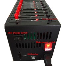 8 порт модемный пул с wavecom Q2403 gprs модуль SMS & MMS двухдиапазонный USB
