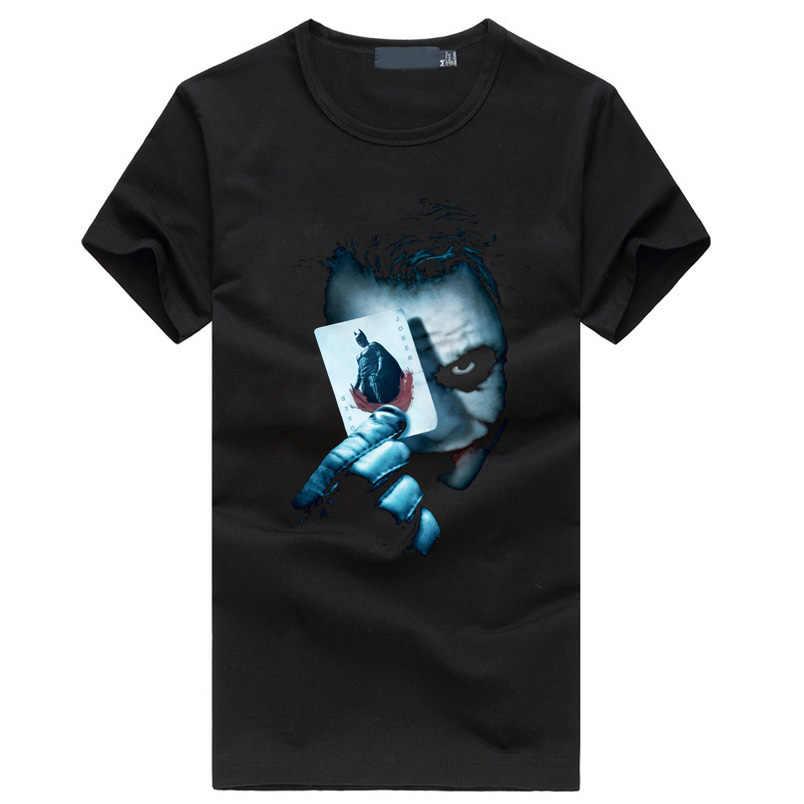 2019, Джокер, Бэтмен, повседневные мужские футболки, Ретро стиль, фильм, забавный, хип-хоп стиль, уличная одежда, черная футболка, homme, фитнес, модная брендовая одежда