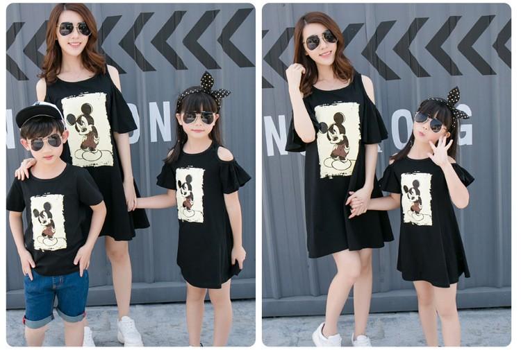 HTB1rsM9KXXXXXbNXFXXq6xXFXXX5 - Entire Family Fashion - Matching Outfits - Stylish Casual Look - Cartoon Mouse Print