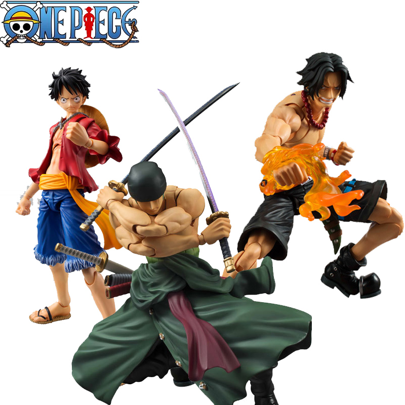 One Piece Figure Japanese Anime Figure Ace Luffy Fire fist Zorro One Piece Action Figure Pvc Cartoon Figurine  Piece Toys one piece figura japanese anime figure sabo pop one piece action figure pvc figurine bonecos do one piece figura toys juguetes