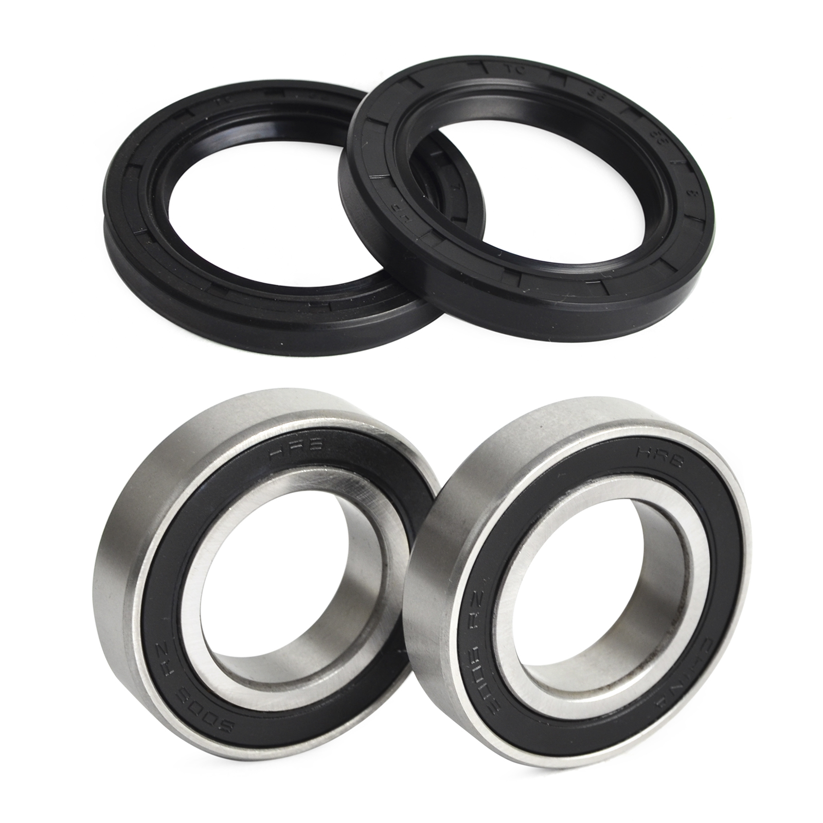 H2CNC Front Wheel Bearing Seats & Oil Seal Kit For <font><b>UTV</b></font> <font><b>800</b></font> 700 500 400 <font><b>Hisun</b></font> Massimo Supermach Bennche image