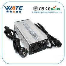 67.2 v 5A Caricatore 16 s 60 v battery charger Li Ion E bike batteria al litio caricatore caso di alluminio Argento con il ventilatore
