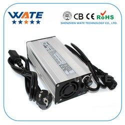 67.2 v 5A Charger 16 s 60 v Li-Ion batterij oplader E-bike lithium batterij oplader Zilver aluminium case met ventilator