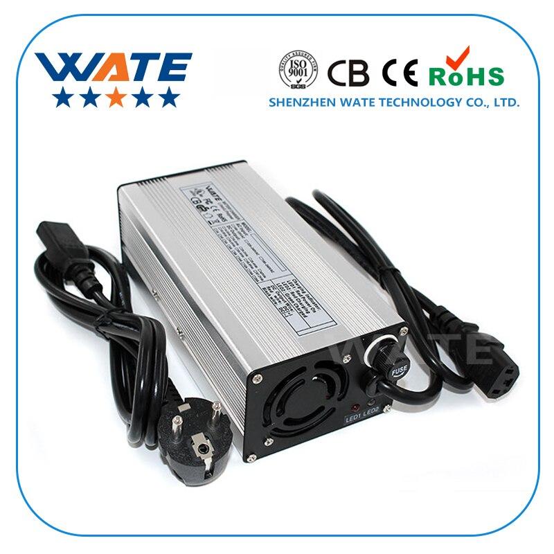 Cargador de batería de litio de 67,2 V 5A, cargador de batería de litio de 16 S 60 V, caja de aluminio de plata con ventilador-in Cargadores from Productos electrónicos on AliExpress - 11.11_Double 11_Singles' Day 1