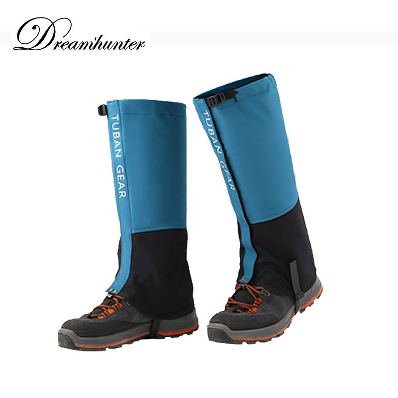 Waterproof Snow Covers Outdoor Skiing Gaiters Boots unisex Professional Leg Warmers Hiking Camping Anti-tear Shoes Covers 2018