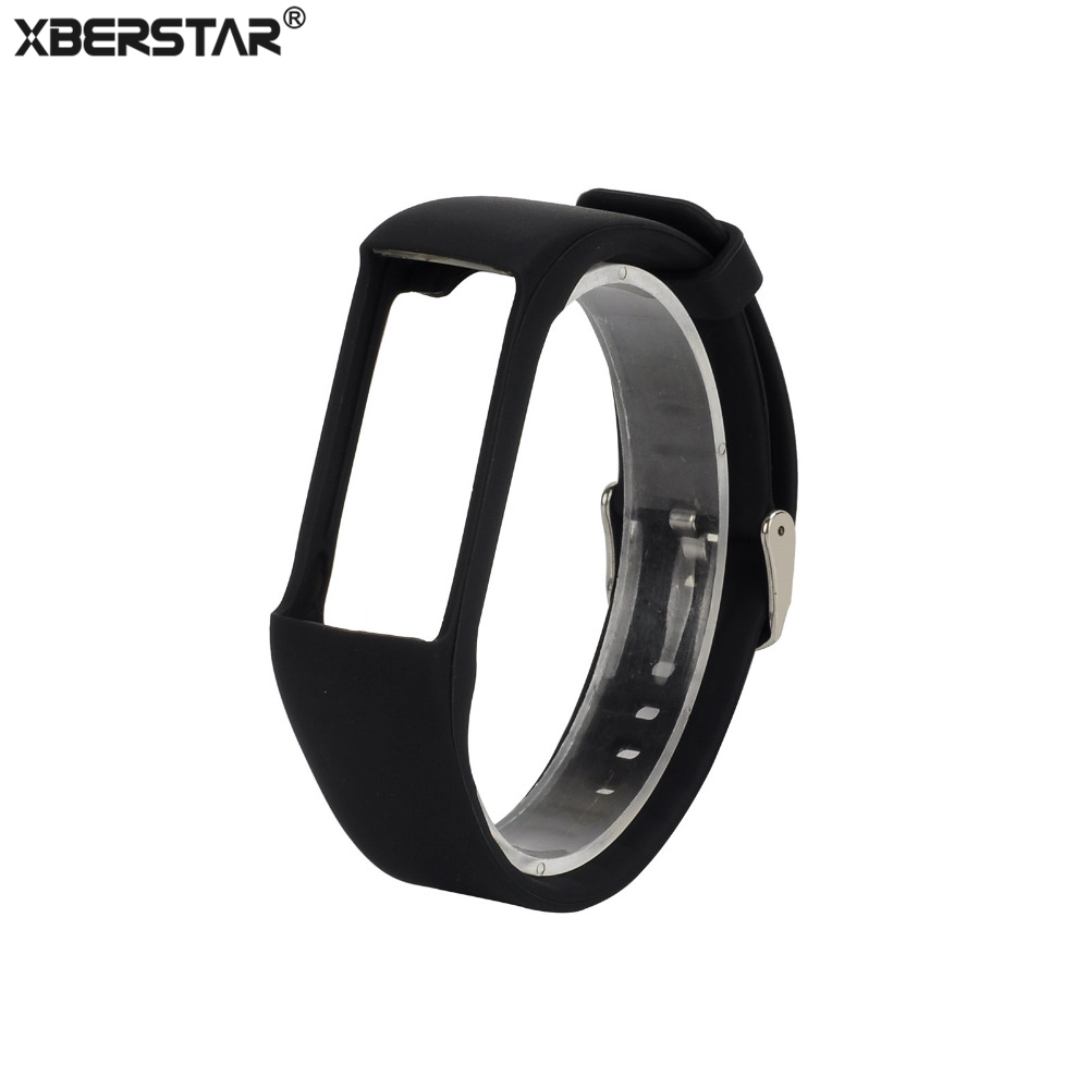 Silicone Wrist Sports Bands Strap Holder for Polar A360 Fitness Tracker + Wrist-Based Heart Rate Monitor