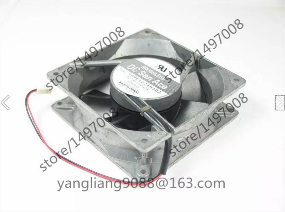 Sanyo 109E1224H102 DC 24V 0.25A 120X120X38mm Server Square Fan