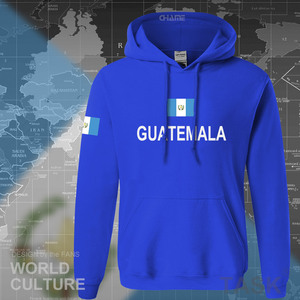Republic of Guatemala Guatemalan hoodies men sweatshirt sweat new hip hop streetwear tracksuits nation footballer sporting GTM(China)
